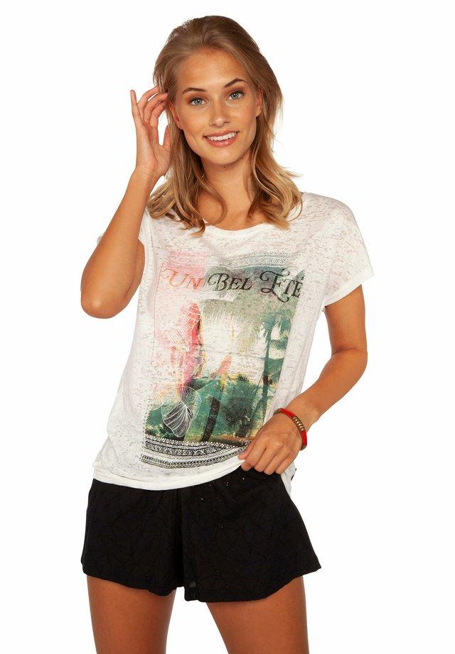 UMBRA  - T-shirt print - off-white/grey