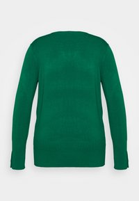 Dorothy Perkins Curve - FOREST CUFF CREW NECK JUMPER - Pullover - green - 1