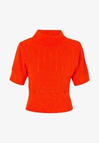Solai - Print T-shirt - orange - 4