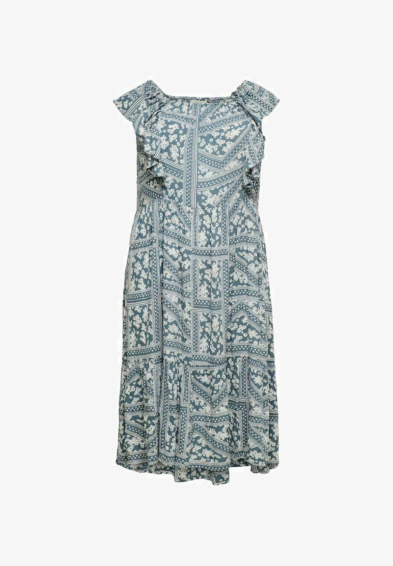 ONLY Carmakoma - Day dress - blue mirage