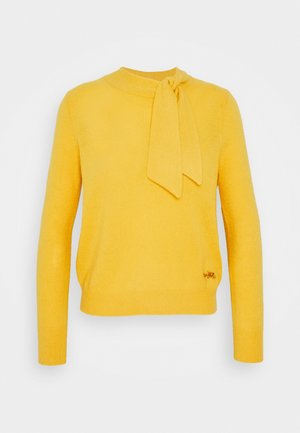HORSE AND CARRIAGE TIE NECK SWEATER - Maglione - yellow