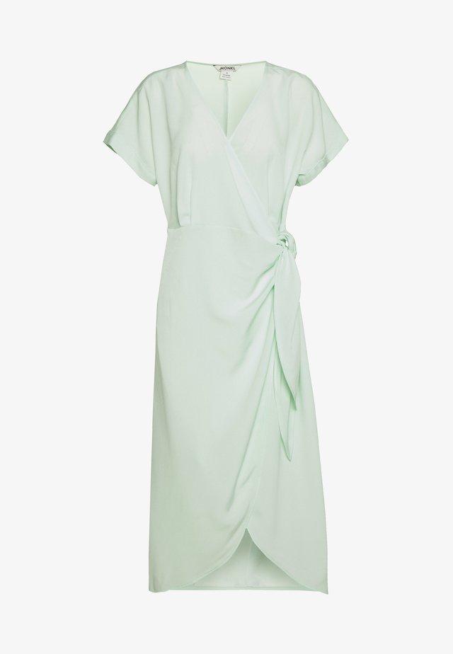 ENLIE WRAP DRESS - Denní šaty - green