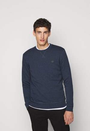PIECE - Sweatshirt - royal blue melange/blue fog