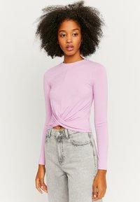 TALLY WEiJL - Long sleeved top - purple - 0