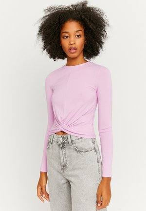 Long sleeved top - purple