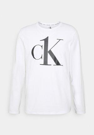 ONE GRAPHIC TEES CREW NECK - Pyjamasöverdel - white