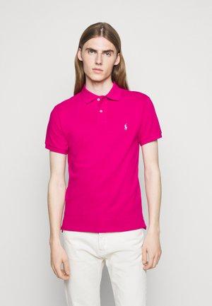 SLIM FIT MESH POLO SHIRT - Polo shirt - aruba pink