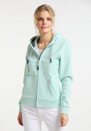 Zip-up hoodie - pastellmint