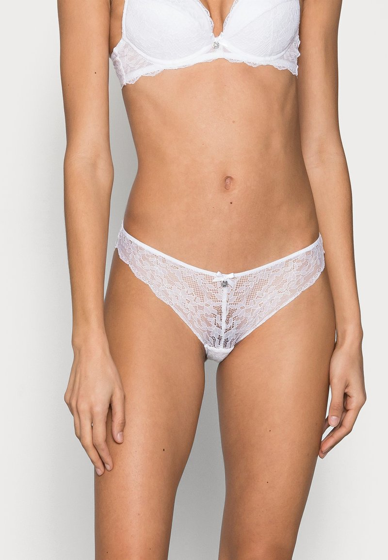 Boux Avenue - MOLLIE THONG - Thong - white