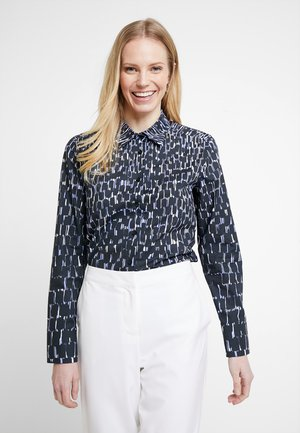 BUFFY - Button-down blouse - black
