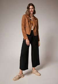 comma - Faux leather jacket - brown - 1