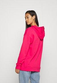 adidas Originals - ADICOLOR TREFOIL ORIGINALS HODDIE - Hoodie - power pink/white - 2
