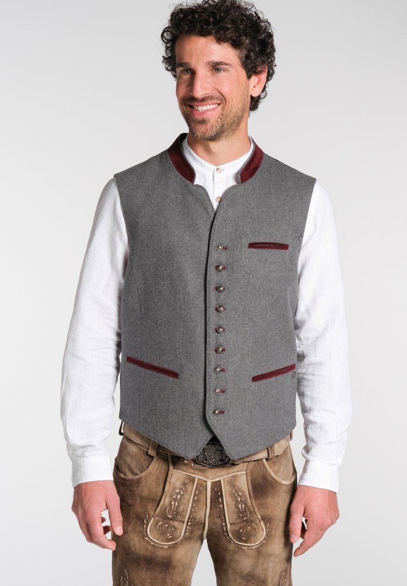 Spieth & Wensky - NIESEL - Waistcoat - grey