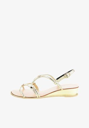 PALIDANO  - Sandals - Golden