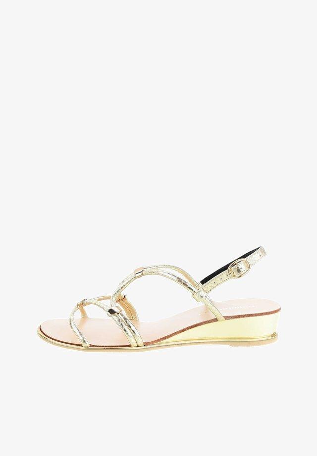 PALIDANO  - Sandaalit nilkkaremmillä - Golden