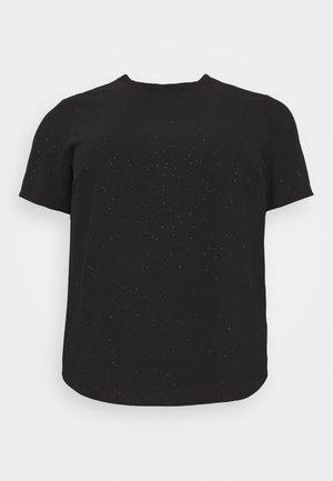 VMAYA ZIP  - Print T-shirt - black/shimmer