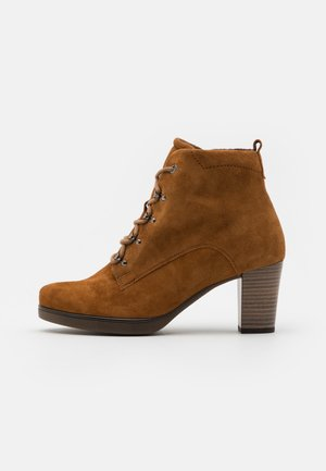 Lace-up ankle boots - deer