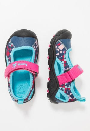 CLAIRE - Walking sandals - magenta
