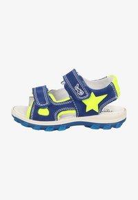 Primigi - Walking sandals - zaffiro/giallo - 0