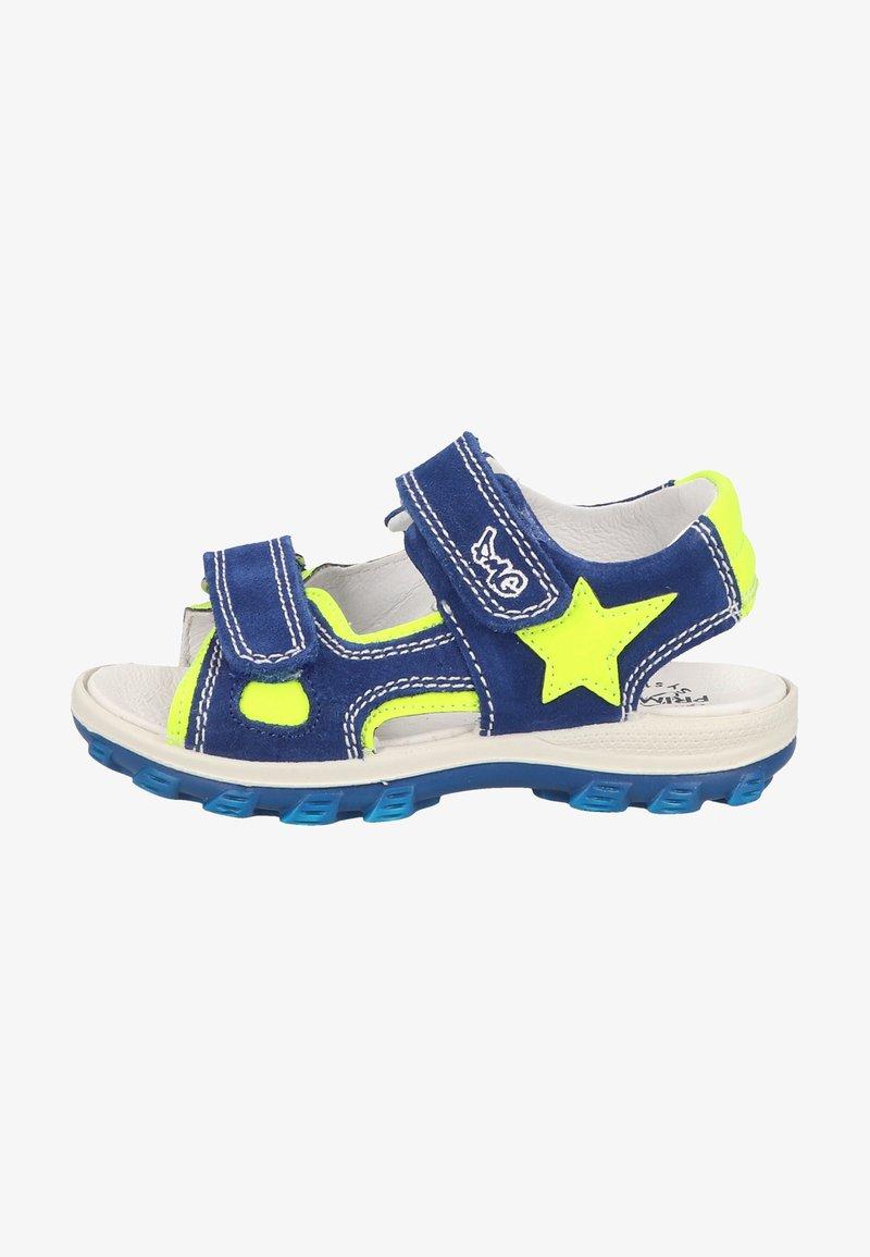 Primigi - Walking sandals - zaffiro/giallo