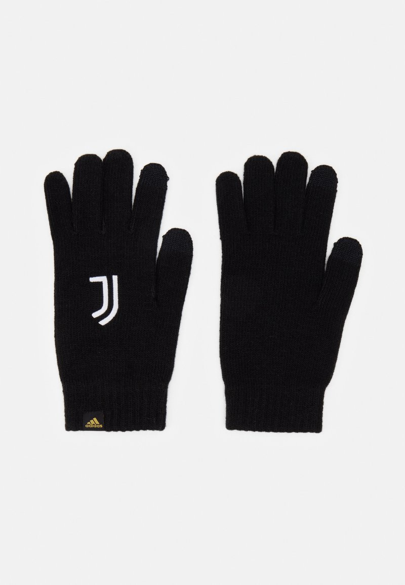 adidas Performance - JUVENTUS SPORTS FOOTBALL GLOVES UNISEX - Guanti - black/white/pyrite