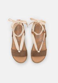 Musse & Cloud - CLOUD - Korkeakorkoiset sandaalit - taupe - 5