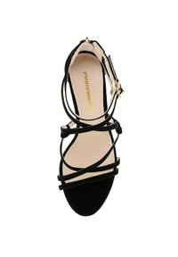 PRIMA MODA - TERZO - Sandály na vysokém podpatku - black - 1