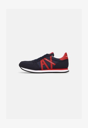 RETRO RUNNER - Sneakers basse - indigo/red