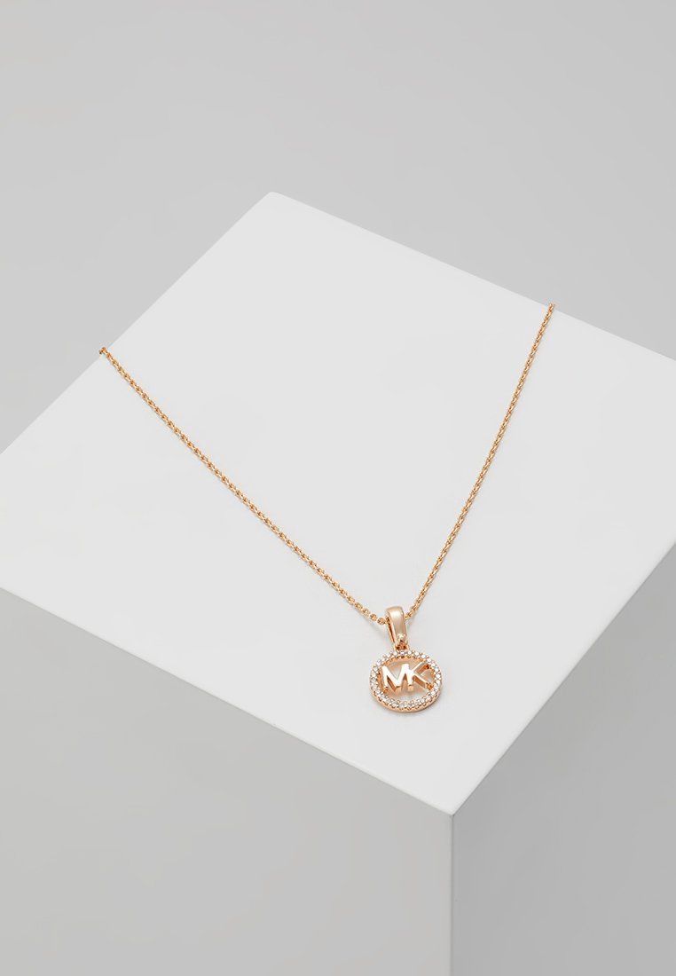 Michael Kors - PREMIUM - Necklace - roségold-coloured