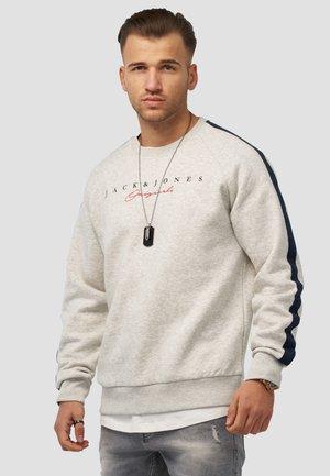 MIT LOGO JORHARRISON - Sweatshirt - white melange