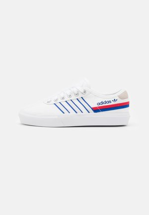 DELPALA SHOES - Trainers - footwear white/scarlet/royal blue
