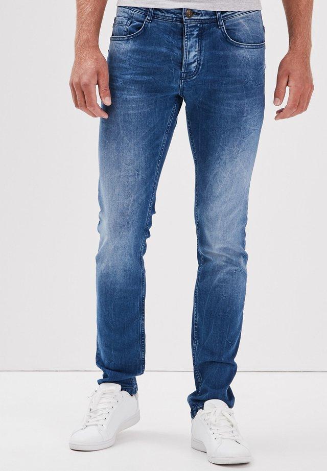 Jeans slim fit - denim baby bleu