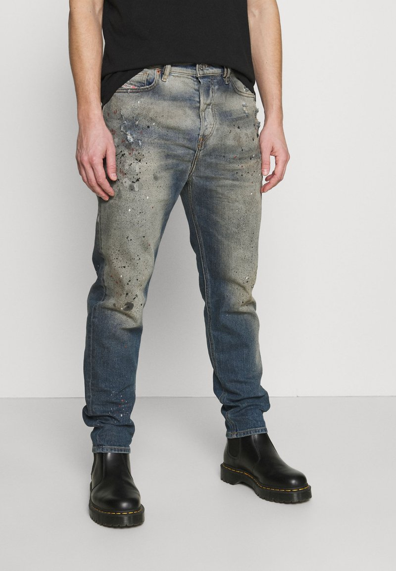 Diesel - D-VIDER - Relaxed fit jeans - medium blue