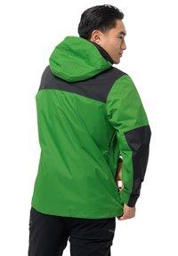 Jack Wolfskin - JASPER FLEX  - Hardshell jacket - basil green - 1