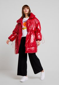 Sixth June - LONG PUFFER  WITH OVERSIZE COLLAR - Vinterfrakker - red - 1