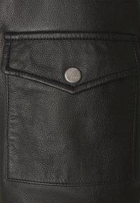 HUGO - LIVIUS - Leather jacket - black - 6