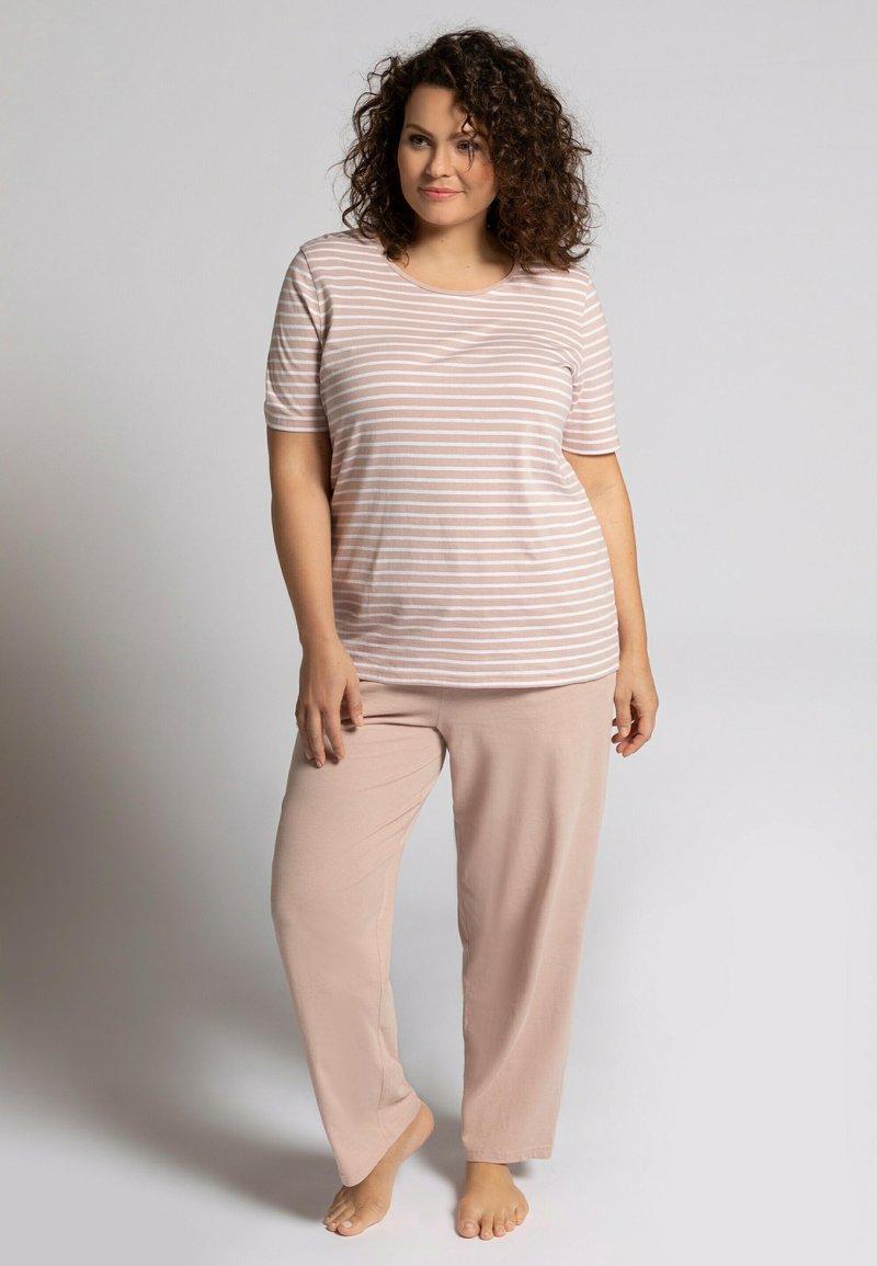 Ulla Popken - Pyjama set - mauve