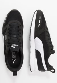 Puma - R78 UNISEX - Baskets basses - black/white - 1