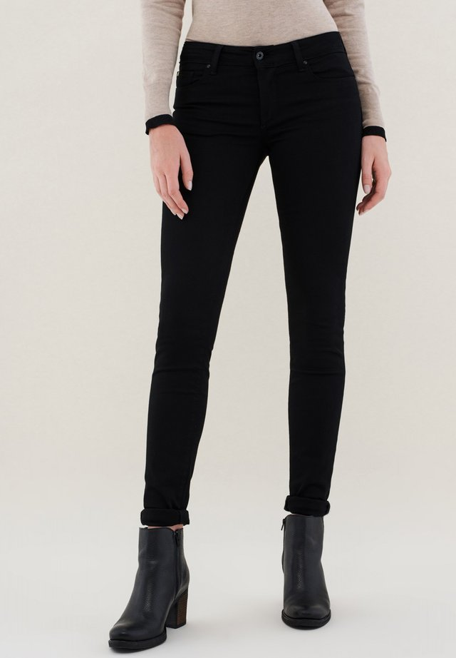 PUSH UP SKINNY - Jeans Skinny Fit - black