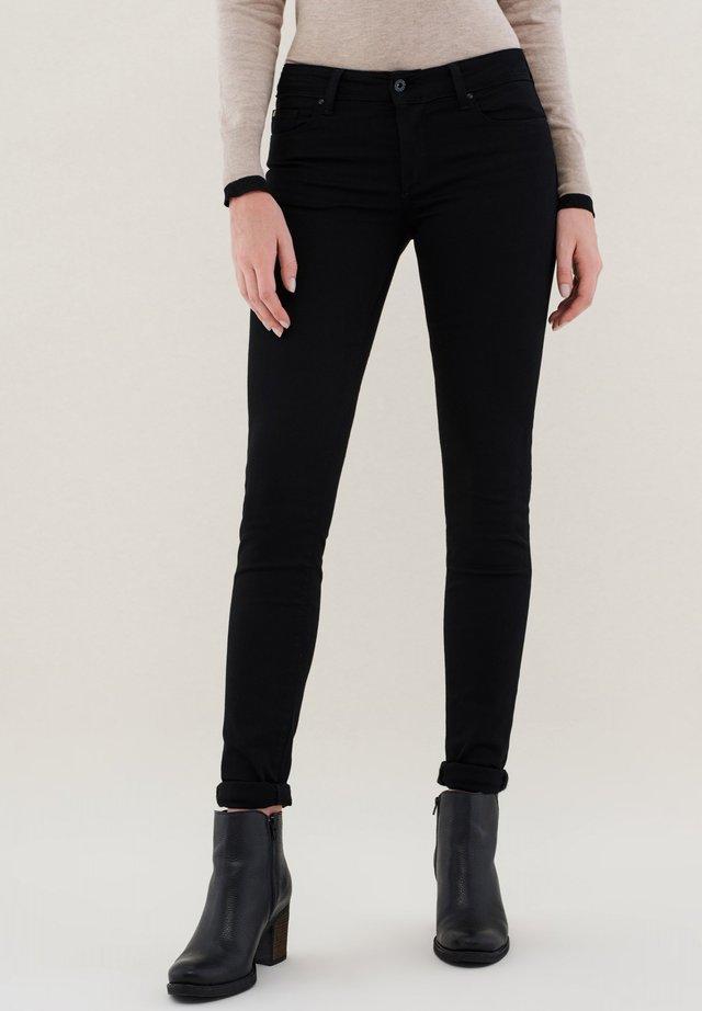 PUSH UP SKINNY - Jeans Skinny - black