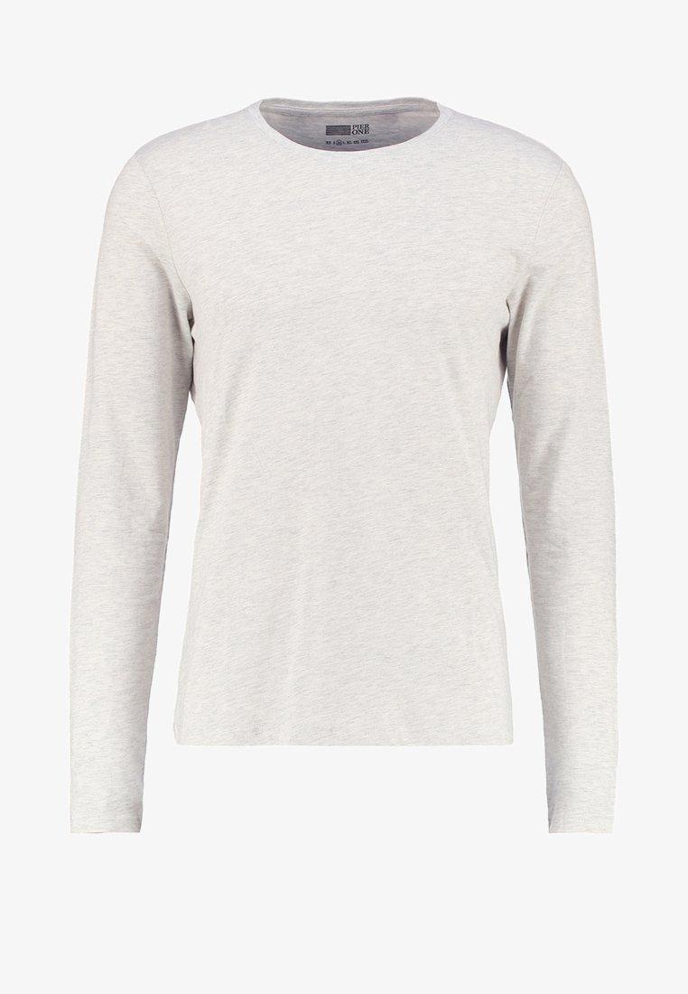 Pier One Langarmshirt - white/weiß D53I3r