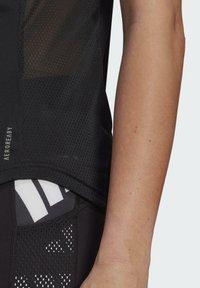 adidas Performance - OWN THE RUN CELEBRATION T-SHIRT - Print T-shirt - black - 5