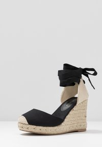 New Look Wide Fit - WIDE FIT TRINIDAD - High heeled sandals - black - 4