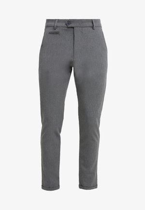 SUIT PANTS COMO - Stoffhose - grey melange