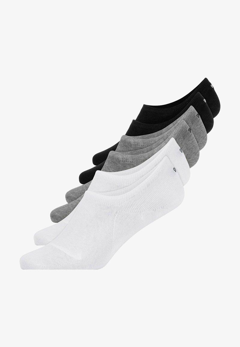 SNOCKS - INVISIBLE SNEAKER - Trainer socks - multicolored