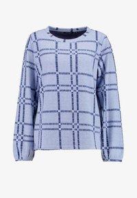 RUNDHALS - Fleece jumper - blau