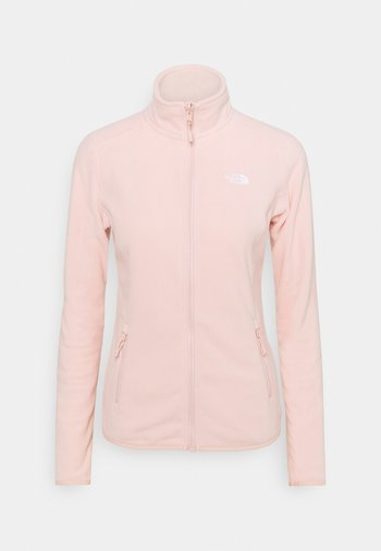 GLACIER FULL ZIP - Giacca in pile - evening sand pink