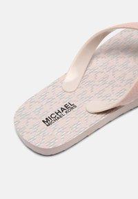 MICHAEL Michael Kors - ENDINE - T-bar sandals - barely pink - 6