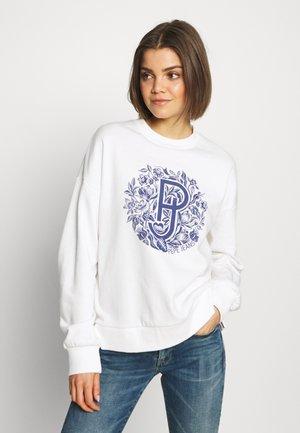BIANCA - Sweatshirt - white