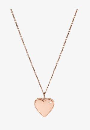 VINTAGE GLITZ - Necklace - rose gold